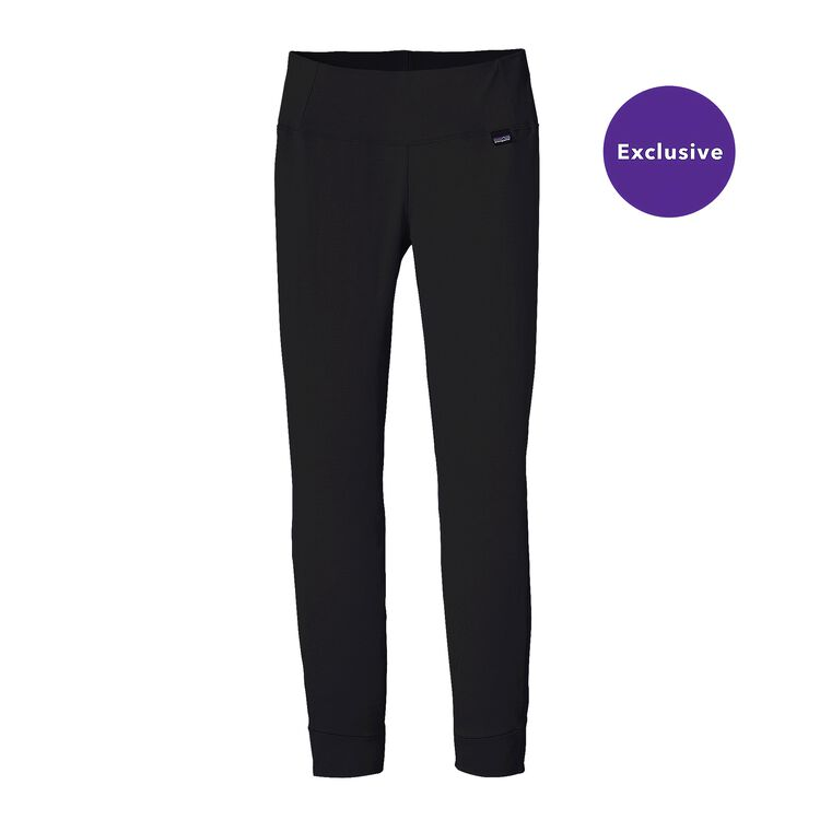W'S MERINO TW BOTTOMS, Black (BLK)