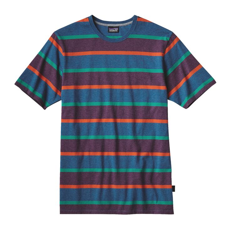 M'S DAILY TEE, Scaler Stripe: Bandana Blue (SSBB)
