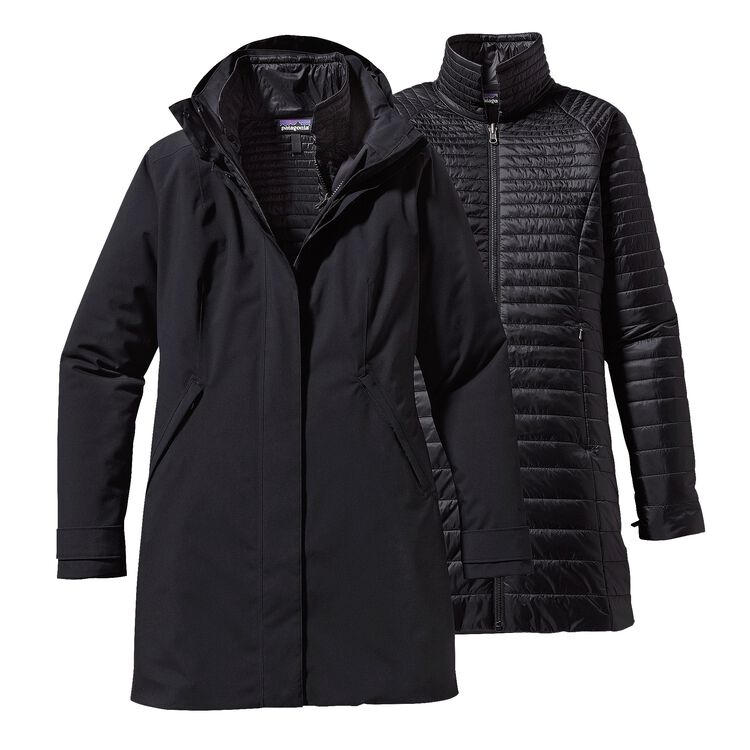 W'S VOSQUE 3-IN-1 PARKA, Black (BLK)