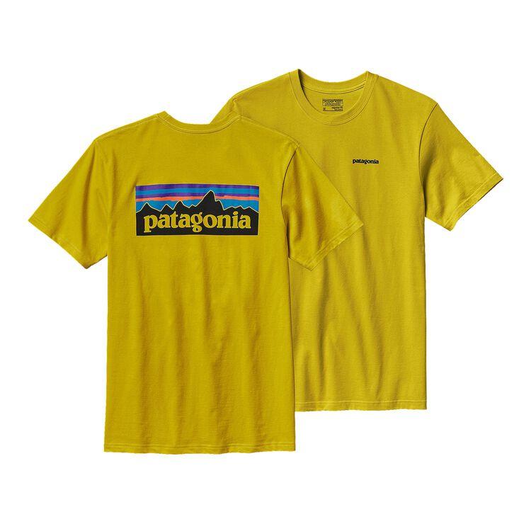M'S P-6 LOGO COTTON T-SHIRT, Yosemite Yellow (YSMY)