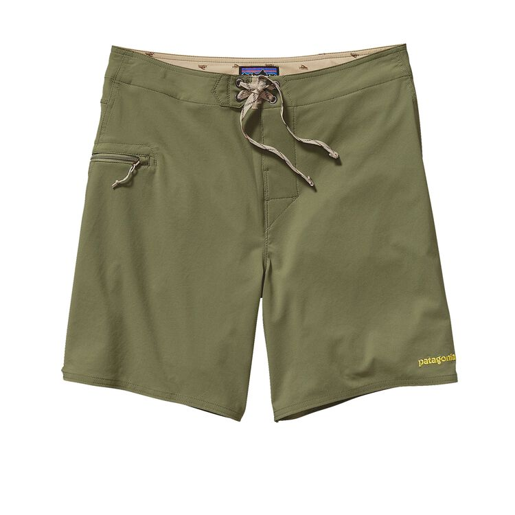 M'S SOLID STRETCH PLANING BOARD SHORTS -, Spanish Moss (SNM)