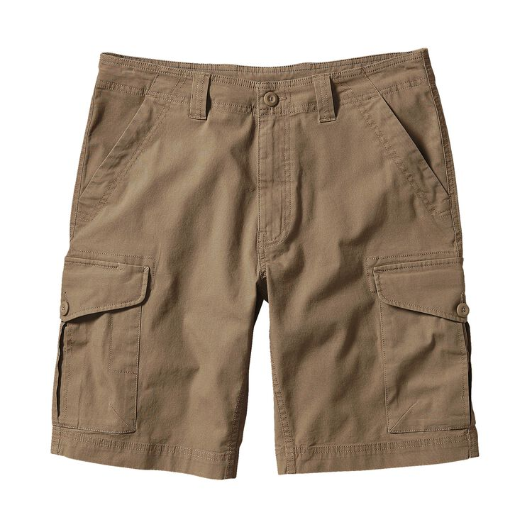 M'S ALL-WEAR CARGO SHORTS - 10 IN., Ash Tan (ASHT)