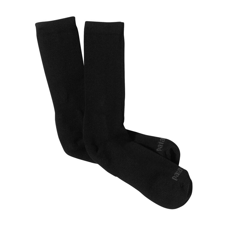 M'S LW CREW SOCKS, Black (BLK)
