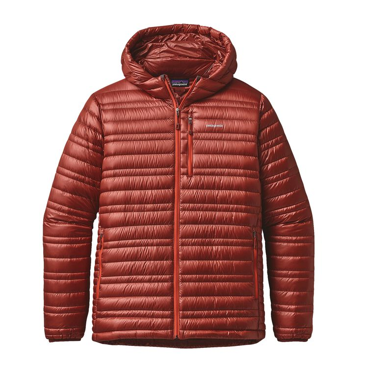 M'S ULTRALIGHT DOWN HOODY, Cinder Red (CDRR)