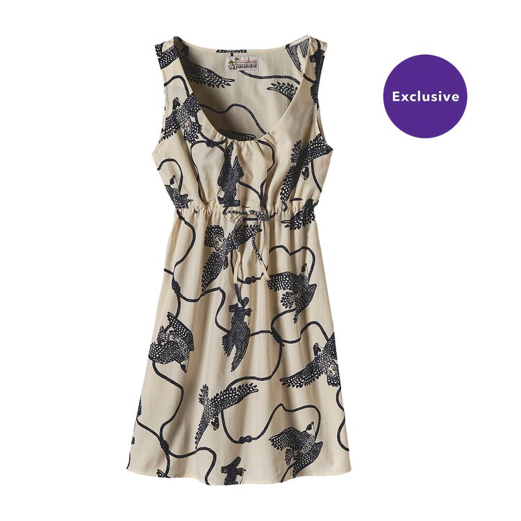 W'S LIMITED EDITION PATALOHA DRESS, Peregrine Climbing: Toasted White (PCTW)