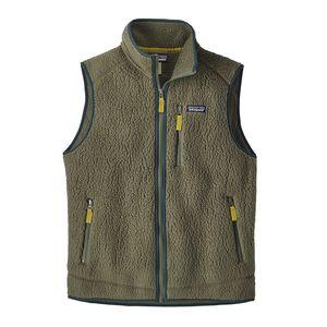 M's Retro Pile Vest, Industrial Green (INDG)