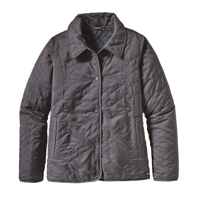 W'S QUILTED LOS GATOS JKT, Forge Grey (FGE)