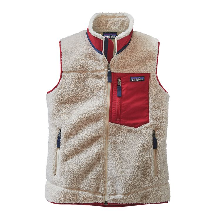 W'S CLASSIC RETRO-X VEST, Natural (NAT)