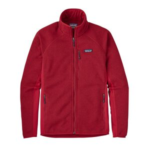 M's Performance Better Sweater™ Fleece Jacket, Classic Red (CSRD)