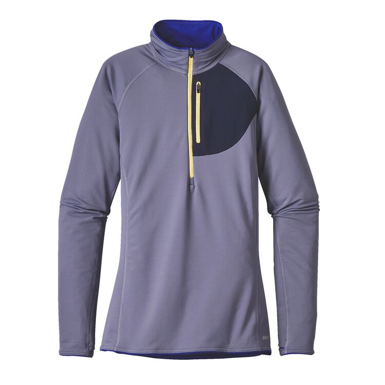 W'S THERMAL SPEEDWORK ZIP NECK, Lupine (LUP)