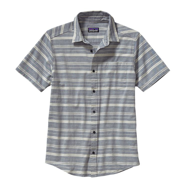 M'S BLUFFSIDE SHIRT, Sundown: Navy Blue (SNVB)