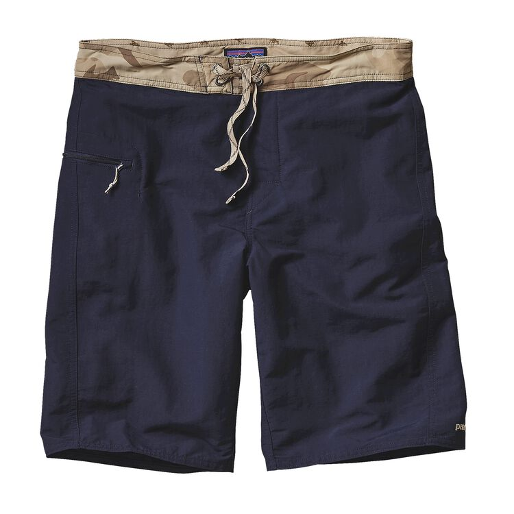 M'S SOLID WAVEFARER BOARD SHORTS - 21 IN, Navy Blue (NVYB)