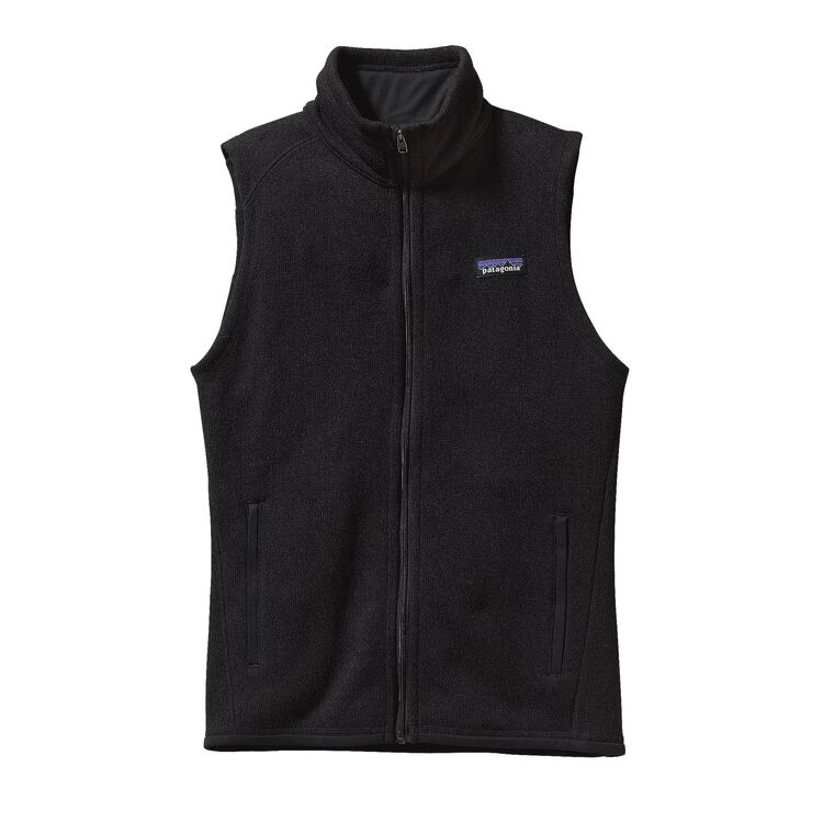 W'S BETTER SWEATER VEST, Black (BLK)
