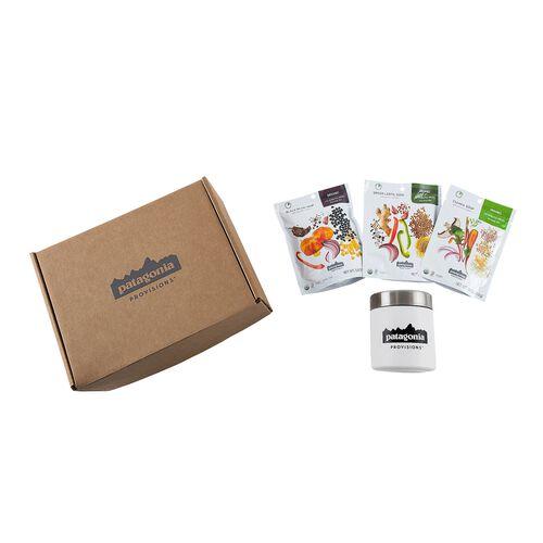 パタゴニア・プロビジョンズ・スープ・キャニスター・ギフトボックス, Multi-Color (ZOO)