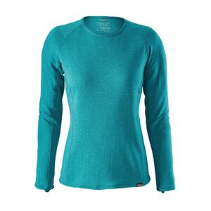 W's Capilene® Thermal Weight Crew, Strait Blue - Elwha Blue X-Dye (SELX)