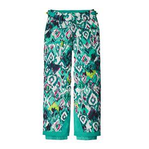 Girls' Snowbelle Pants, Inlet Ikat: Strait Blue (INSB)