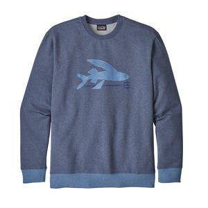メンズ・フライング・フィッシュ・ミッドウェイト・クルー・スウェットシャツ, Dolomite Blue (DLMB)