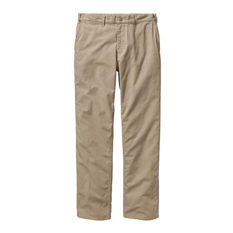 M'S REGULAR FIT DUCK PANTS - LONG, El Cap Khaki (ELKH)