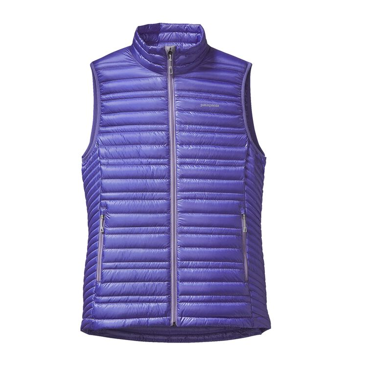 W'S ULTRALIGHT DOWN VEST, Violet Blue (VLTB)