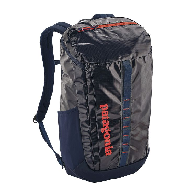 BLACK HOLE PACK 25L, Navy Blue w/Paintbrush Red (NPTR)