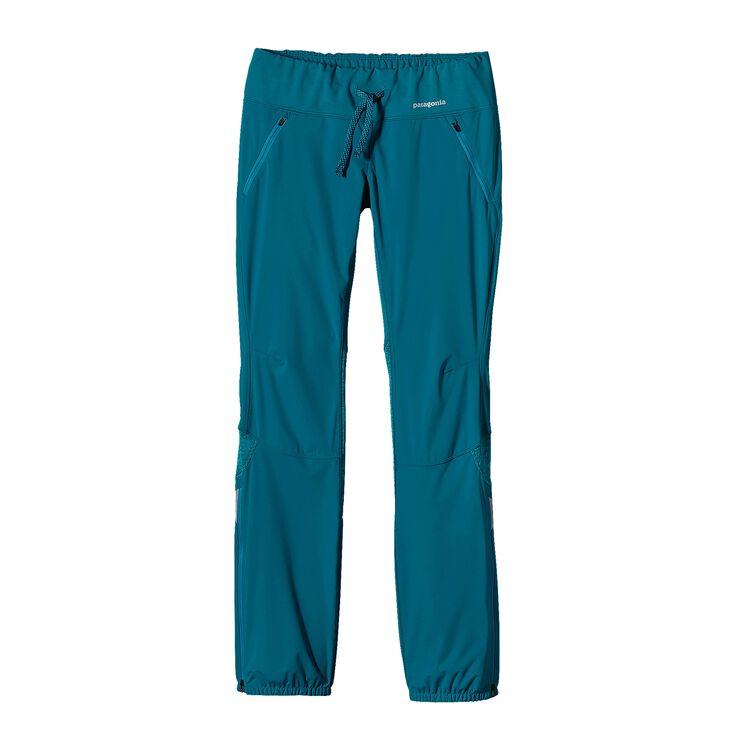 W'S WIND SHIELD PANTS, Underwater Blue (UWTB)