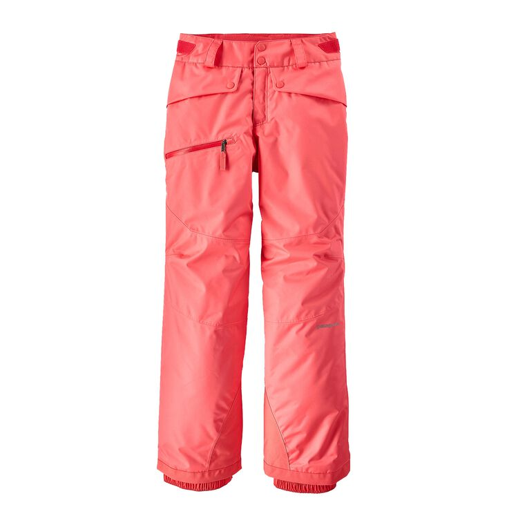 GIRLS' SNOWBELLE PANTS, Indy Pink (IDYP)