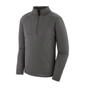 M's Capilene® Thermal Weight Zip-Neck, Forge Grey - Feather Grey X-Dye (FGX)