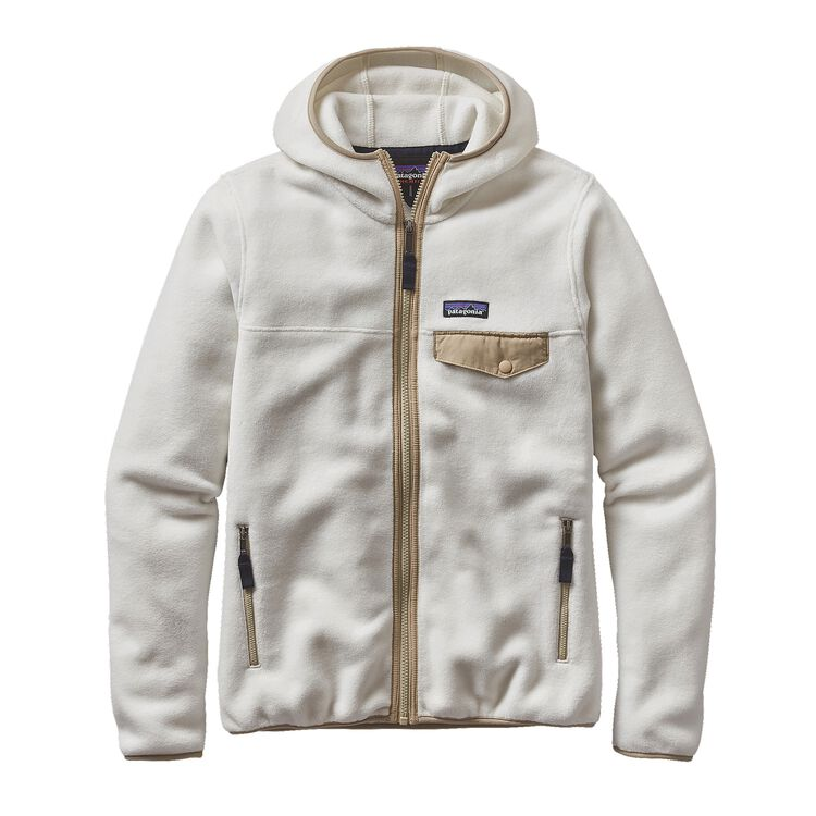 W'S LW SNAP-T HOODED JKT, Birch White (BCW)