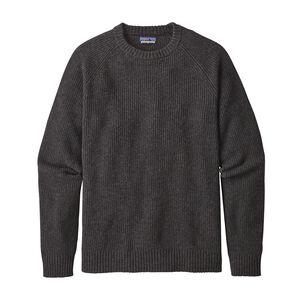 メンズ・リサイクル・ウール・クルーネック・セーター, Forge Grey (FGE)