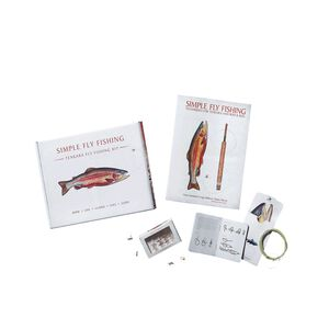 "Simple Fly Fishing Kit for 8' 6"" Rod, Multi-Color (ZOO)"