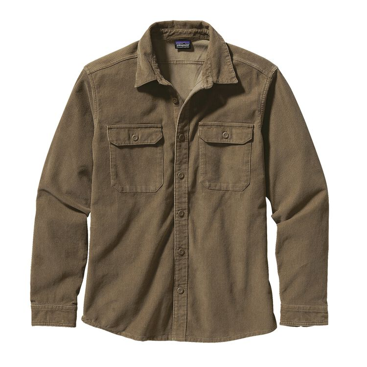 M'S L/S WORKWEAR SHIRT, Ash Tan (ASHT)
