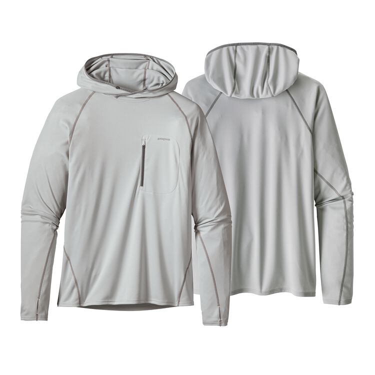 M'S SUNSHADE TECHNICAL HOODY, Tailored Grey (TGY)
