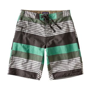 "M's Wavefarer™ Board Shorts - 21"", Fitz Stripe: Galah Green (FSGG)"