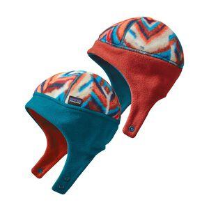 Baby Reversible Synchilla® Hat, Raven Tapestry: Navy Blue (RTNB)