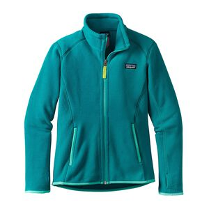 Girls' Radiant Flux Jacket, Elwha Blue (ELWB)