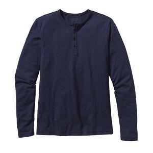 メンズ・ロングスリーブ・デイリー・ヘンリー, Navy Blue (NVYB)