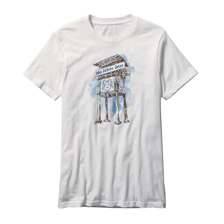 メンズ・ノー石木ダム・Tシャツ, Multi-Color (ZOO)