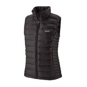 W's Down Sweater Vest, Black (BLK)