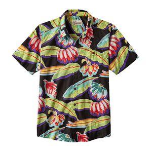 M's Malihini Pataloha™ Shirt, '88 Bananas: Black (BANB)