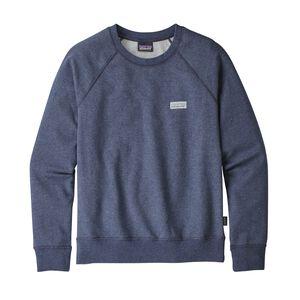 W's Pastel P-6 Label Midweight Crew Sweatshirt, Classic Navy (CNY)