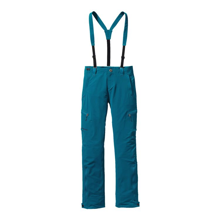W'S DUAL POINT ALPINE PANTS, Underwater Blue (UWTB)
