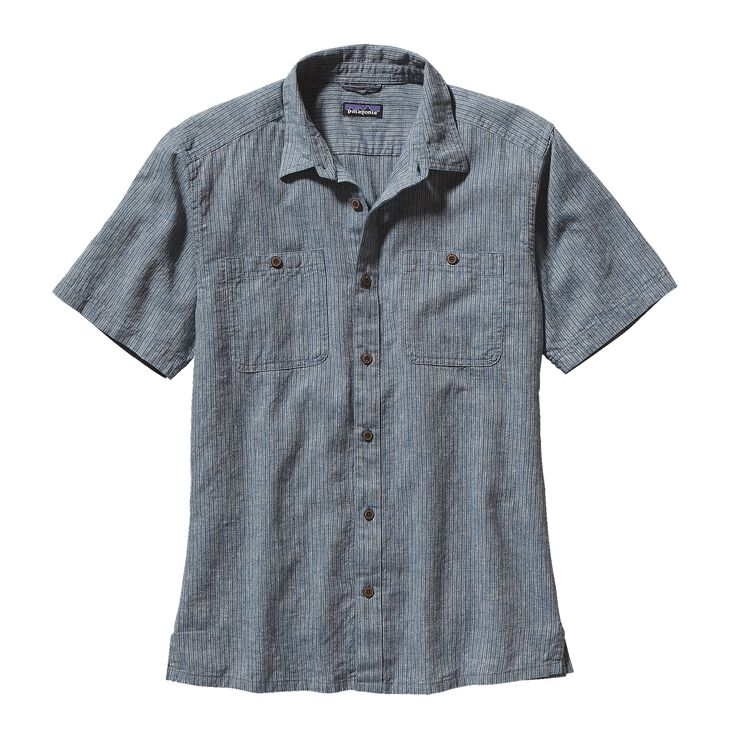 M'S BACK STEP SHIRT, Punjab: Glass Blue (PJGB)