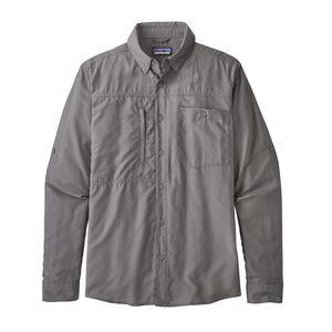 M's Long-Sleeved Gallegos Shirt, Hex Grey (HEXG)