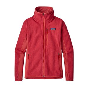 W's Performance Better Sweater™ Fleece Jacket, Static Red (STTR)