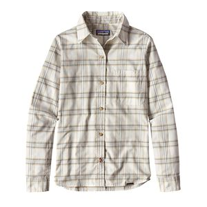 W's Long-Sleeved Island Hopper II Shirt, Water Wheel: Birch White (WHBW)