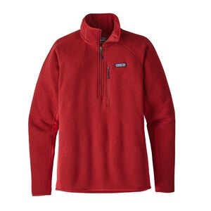 M's Performance Better Sweater™ 1/4-Zip Fleece, Classic Red (CSRD)