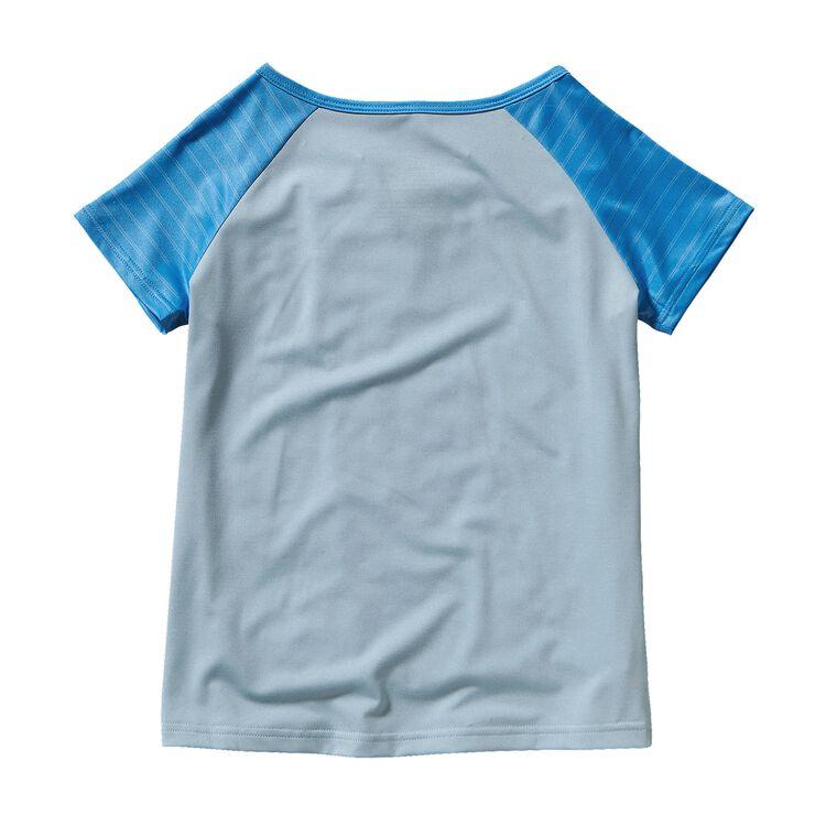 ガールズ・キャプリーン1・シルクウェイト・Tシャツ,
