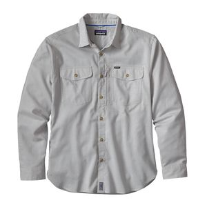 M's Long-Sleeved Cayo Largo Shirt, Mirror Flat: Drifter Grey (MRDG)
