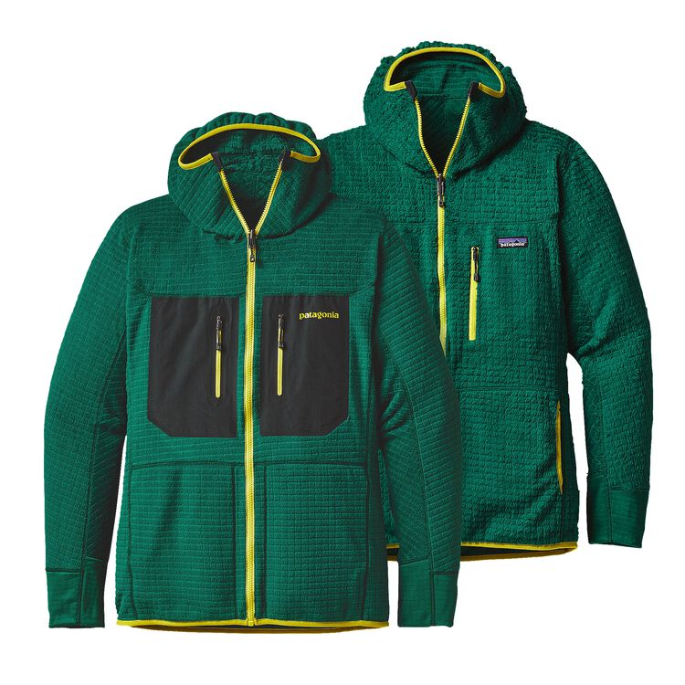 M'S R3 HOODY, Legend Green (LGDG)