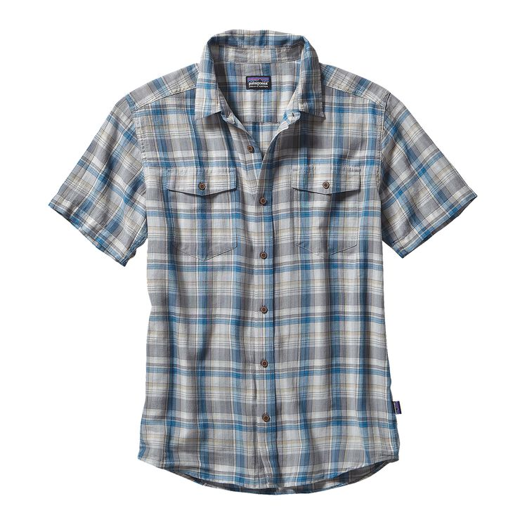 M'S STEERSMAN SHIRT, Bearded: Catalyst Blue (BECT)
